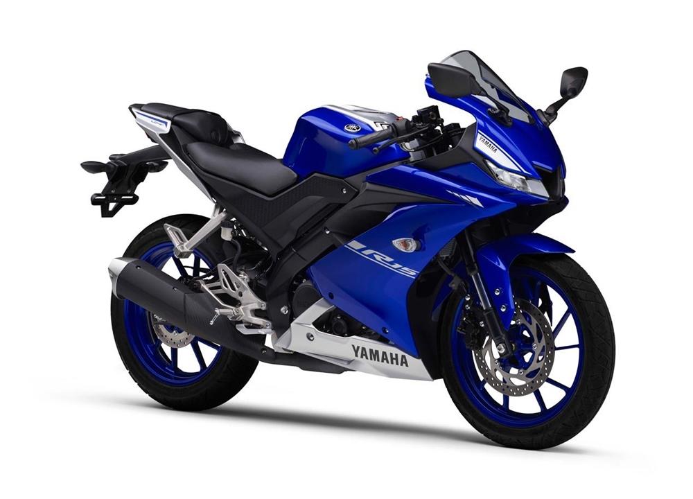 Yamaha YZF-R15 2017 с системой Yamaha VVA