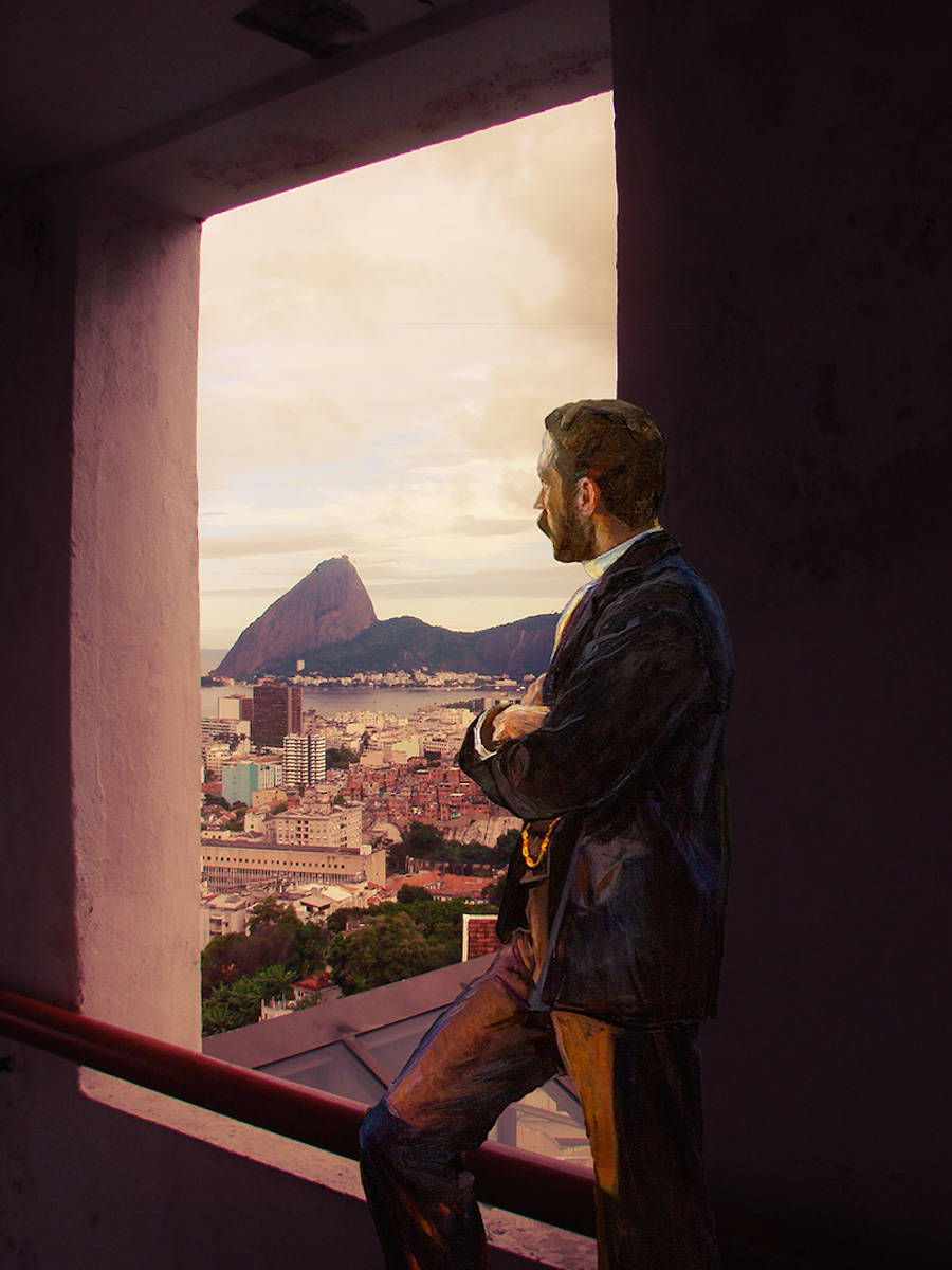 Classical Paintings' Protagonists in Modern Day Places