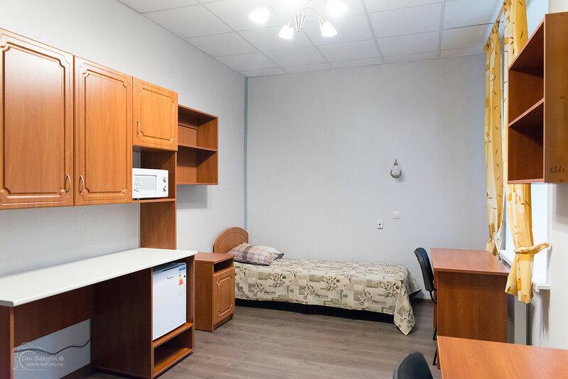 Интерьеры общежития