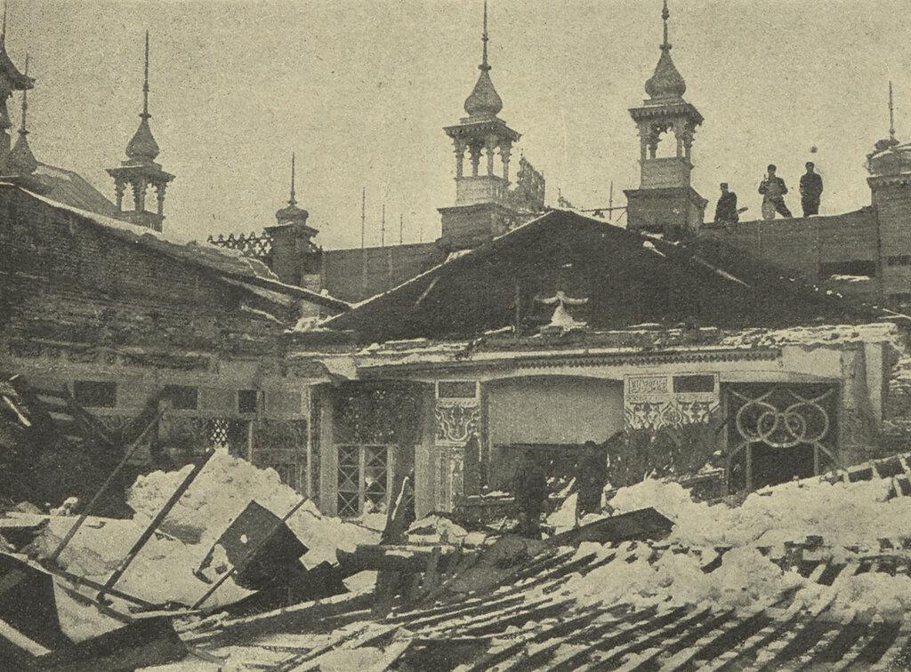 842 Обрушение театра _Олимпия_ в саду _Аквариум_Л. Бакулин 1907.jpg