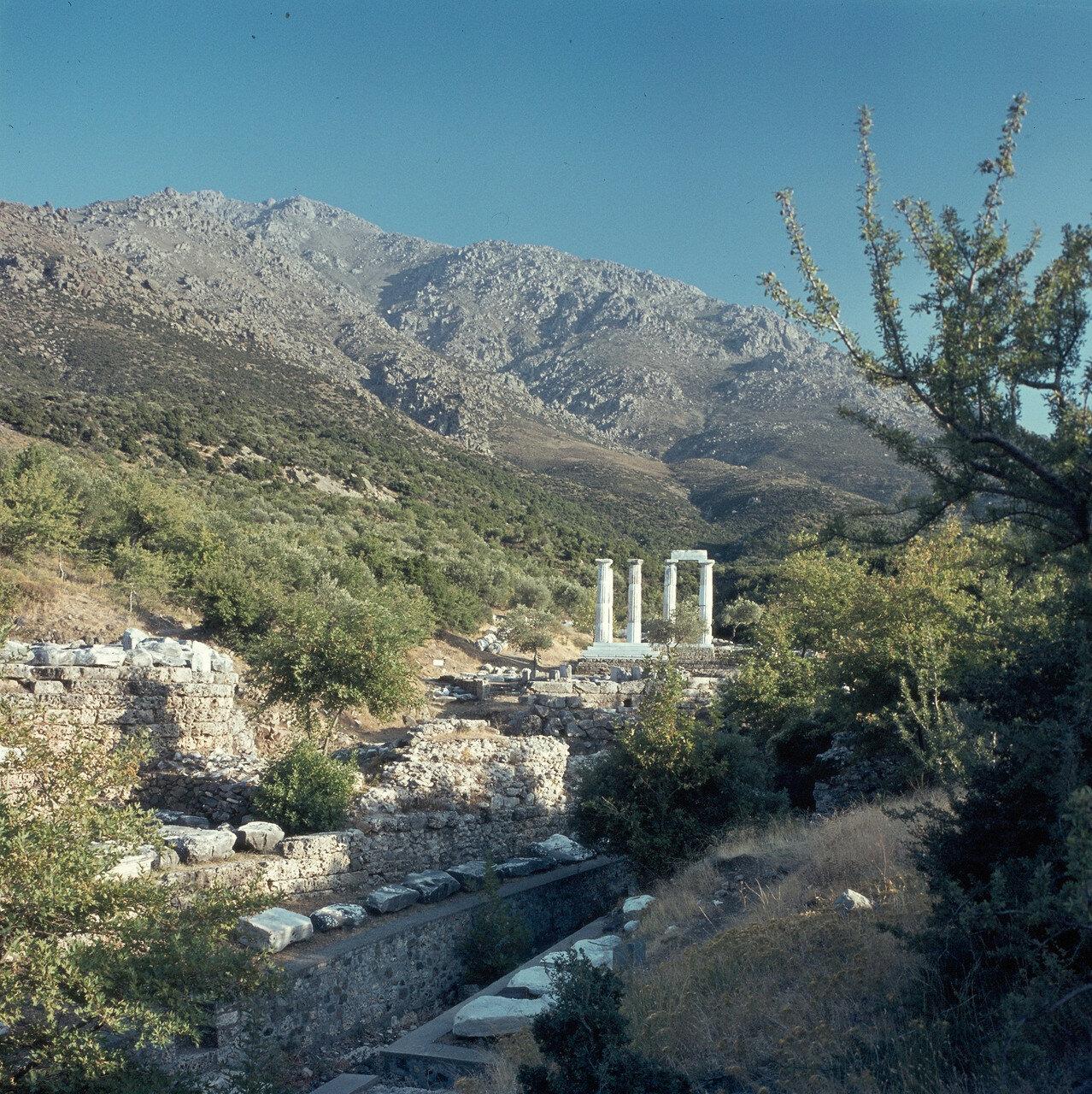 Самофракия. Святилище в северной части горы Фенгари. 1964
