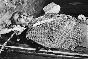 Вильгельм Фрик после исполнения приговора