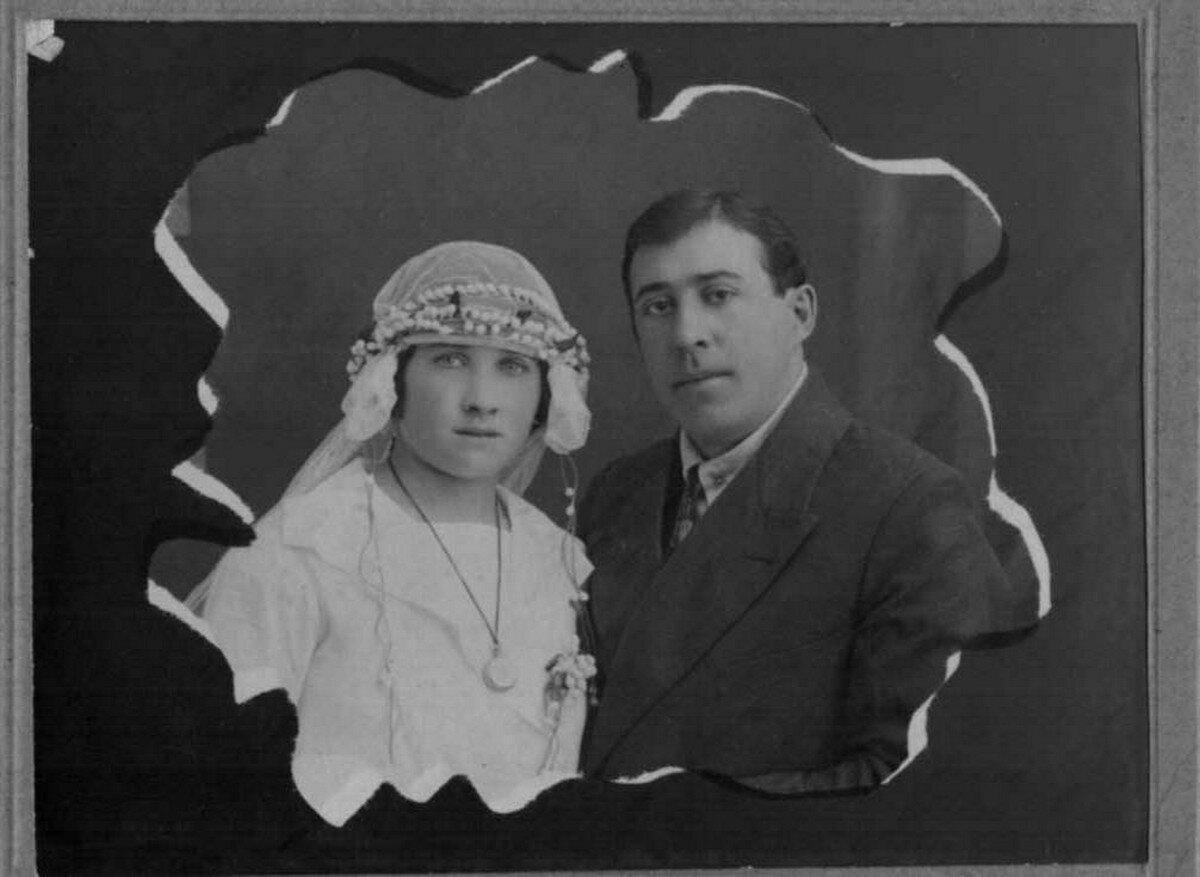 1920-е. Молодожены