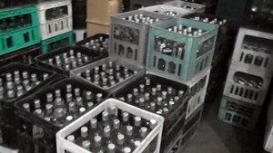 В столице обнаружили подпольный цех по производству алкоголя