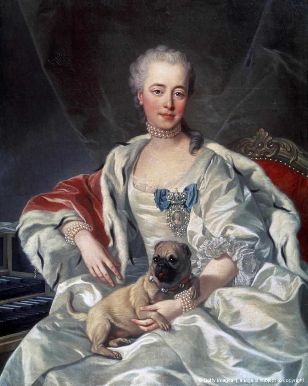 0000-1 Портрет Екатерины Голицыной Луис Мишель ван Лоо.JPG