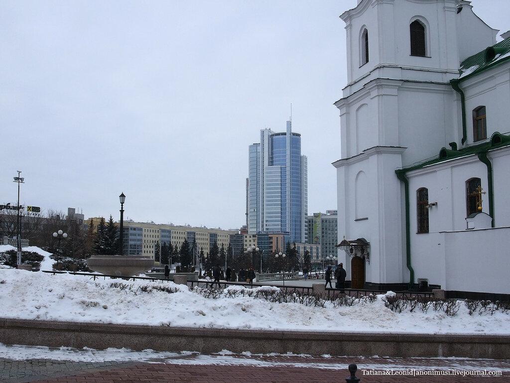 Зимний Минск