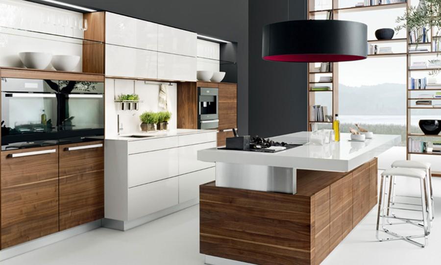 9. Природная красота кухни серии К7 от австрийской компании Team7 сочетается с ее великолепной практ