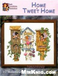 Jeanette Crews Designs 1271 Home Tweet Home
