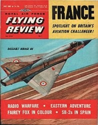 Журнал Royal Air Force Flying Review №5 1963