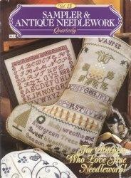 Журнал Sampler & Antique Needlework vol.13 1998