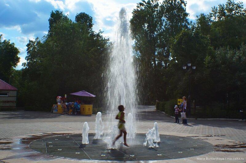 Детский парк, Саратов, 19 июля 2015 года