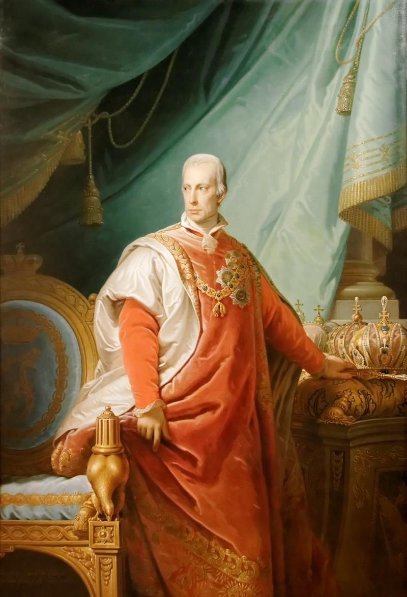 Франц II в регалиях Ордена Золотого руна.