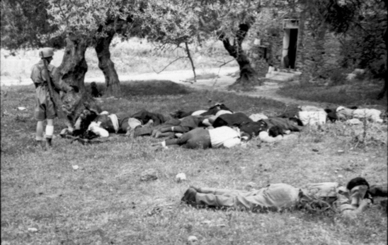 Расстрел гражданских заложников