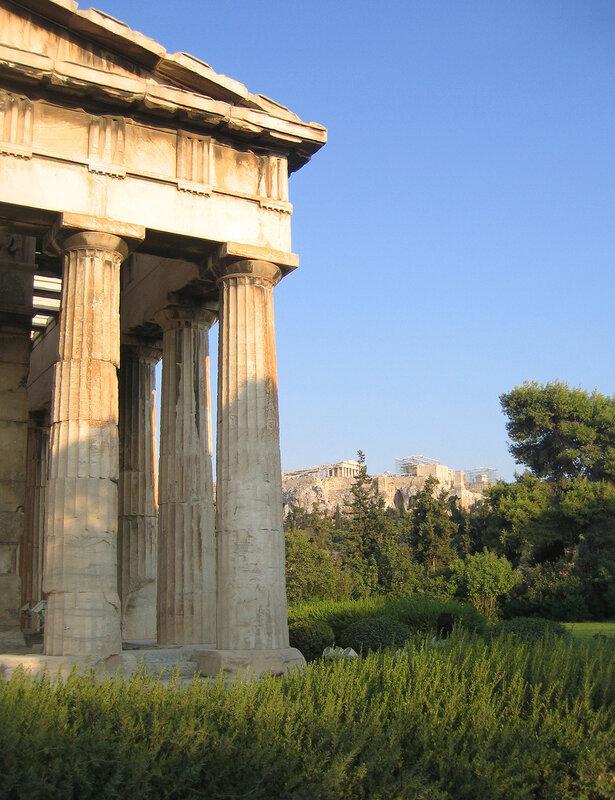 Гефестейон и Парфенон