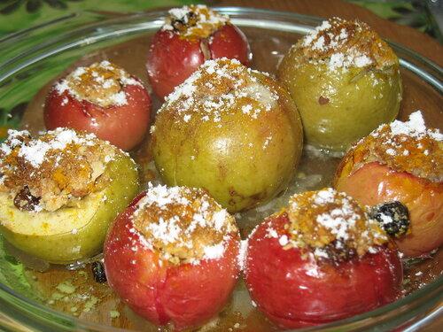 Фарштрованные яблочки