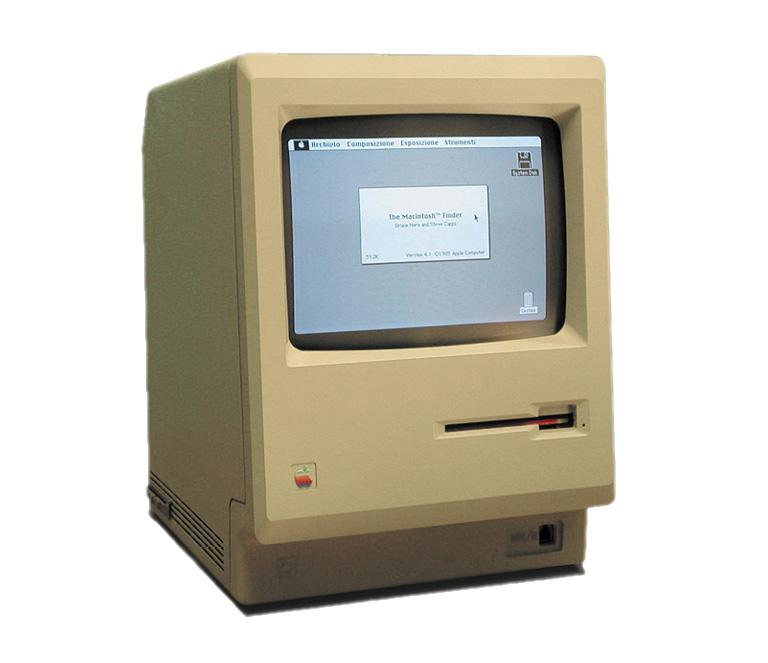 Оригинальный Macintosh, выпущенный в январе 1984 года