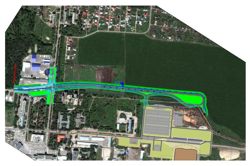 Реконструкция автомобильной дороги Волжский - аэропорт