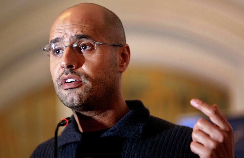 Сейф аль-Ислам Каддафи © AP Photo / Ben Curtis, File