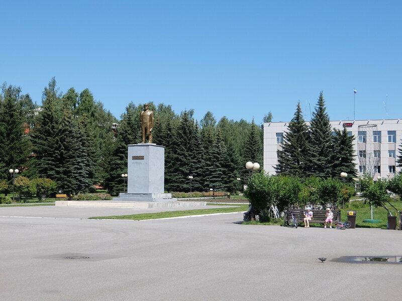 Осинники - Площадь Советов