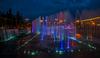 Танцующие фонтаны на Московской площади
