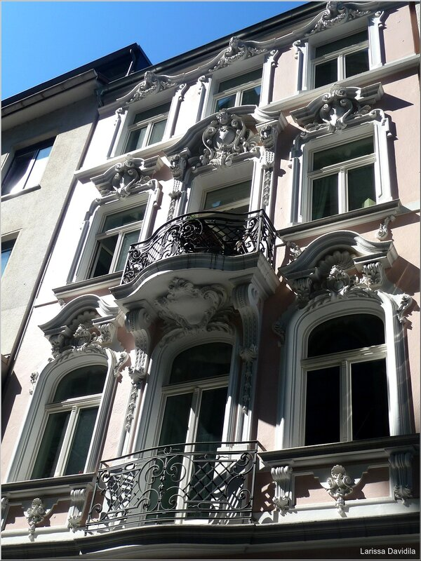 Зарисовки архитектуры Бонна.