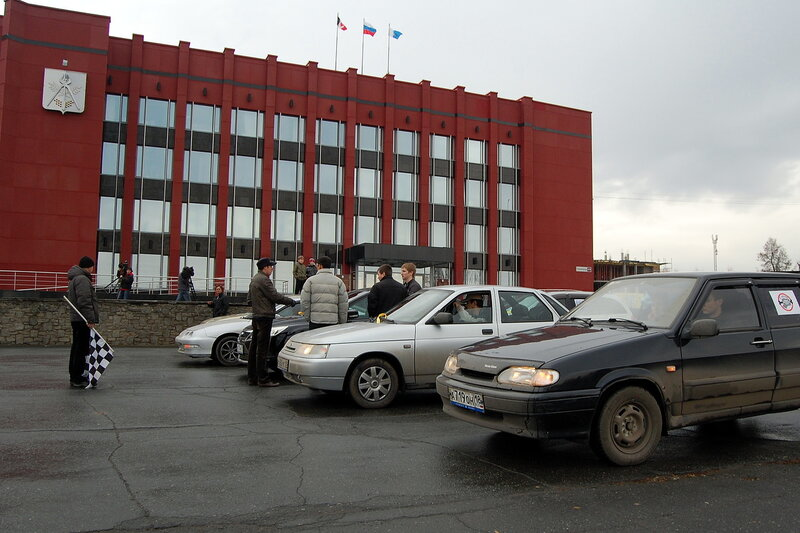 всероссийская акция протеста автомобилистов в Ижевске