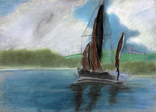 Шестилетний гений-художник Кейрон Уильямсон.