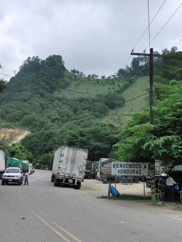 Граница между Гватемалой и Гондурасом