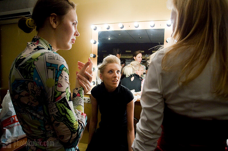 fashion backstage  Defile.in.Kiev   backstage