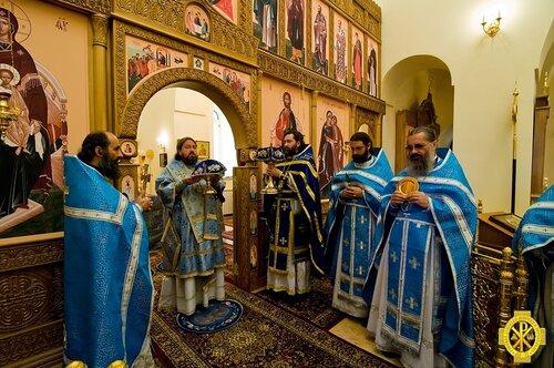 Престольный праздник в Горненском монастыре