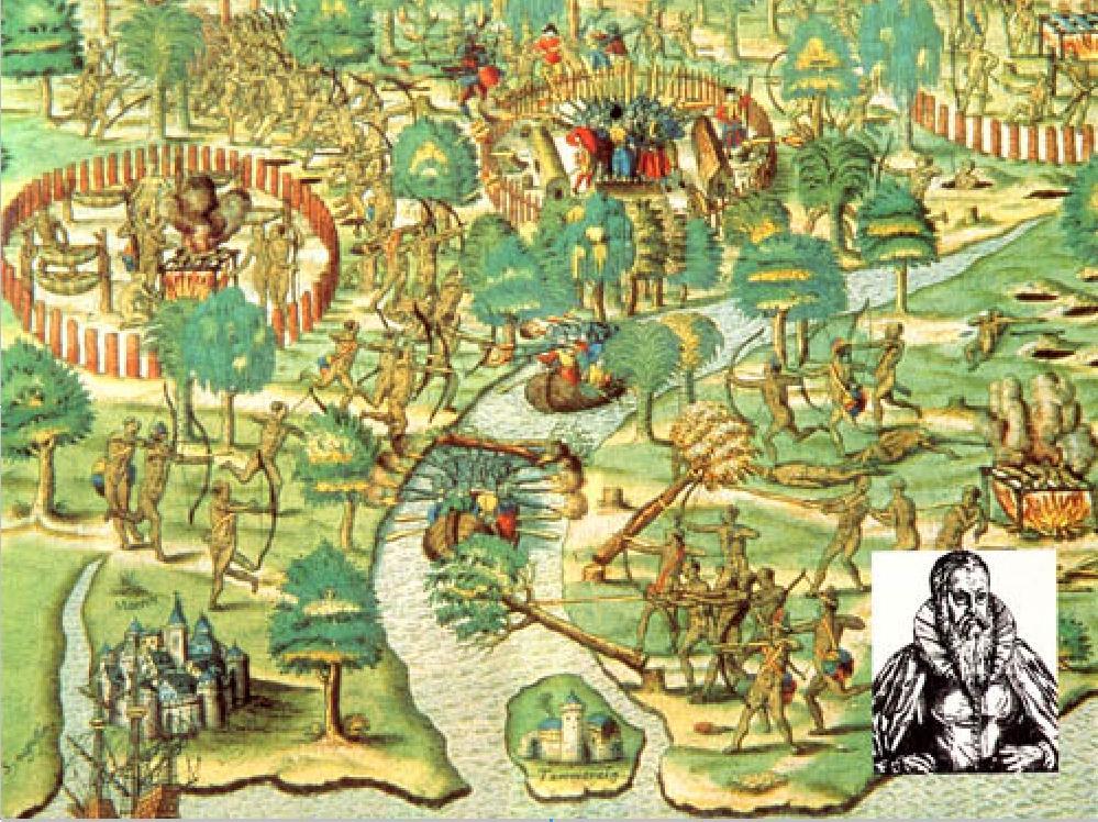09 - HANS STADEN No Brasil em 1549 e 1552.jpg