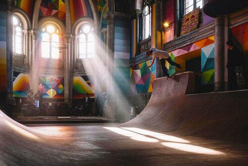 Старая часовня превращается в скейтпарк