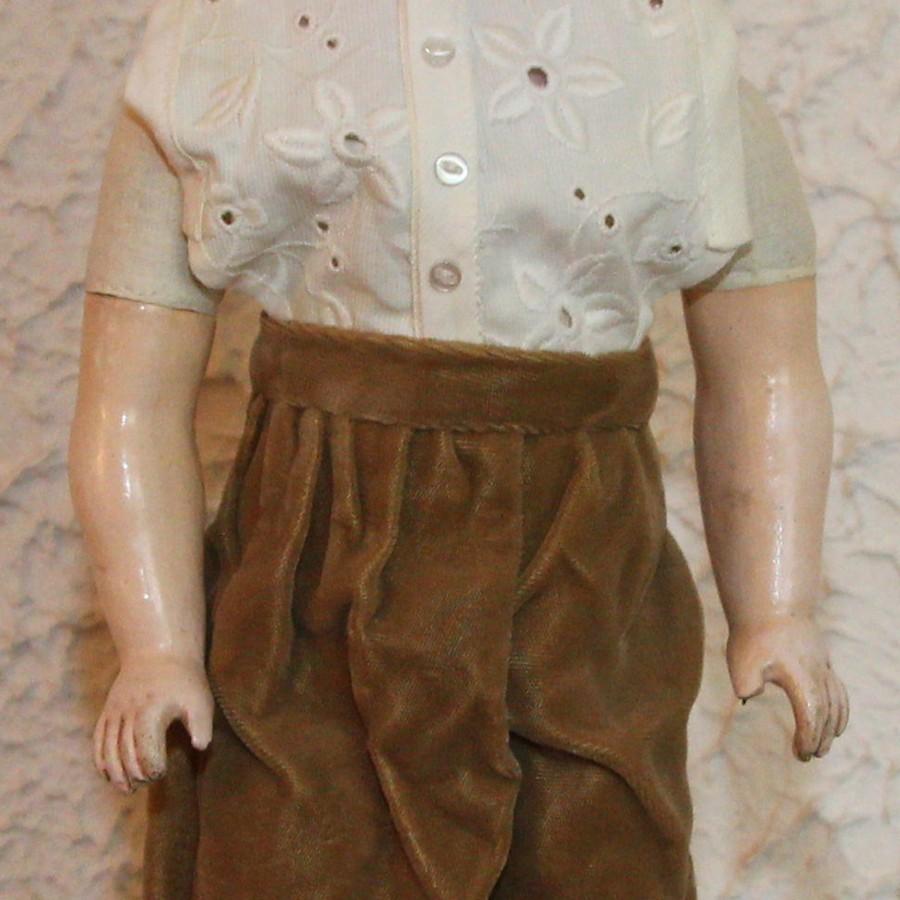 Антикварная немецкая коллекционная кукла F. & W. Goebel 30 BG