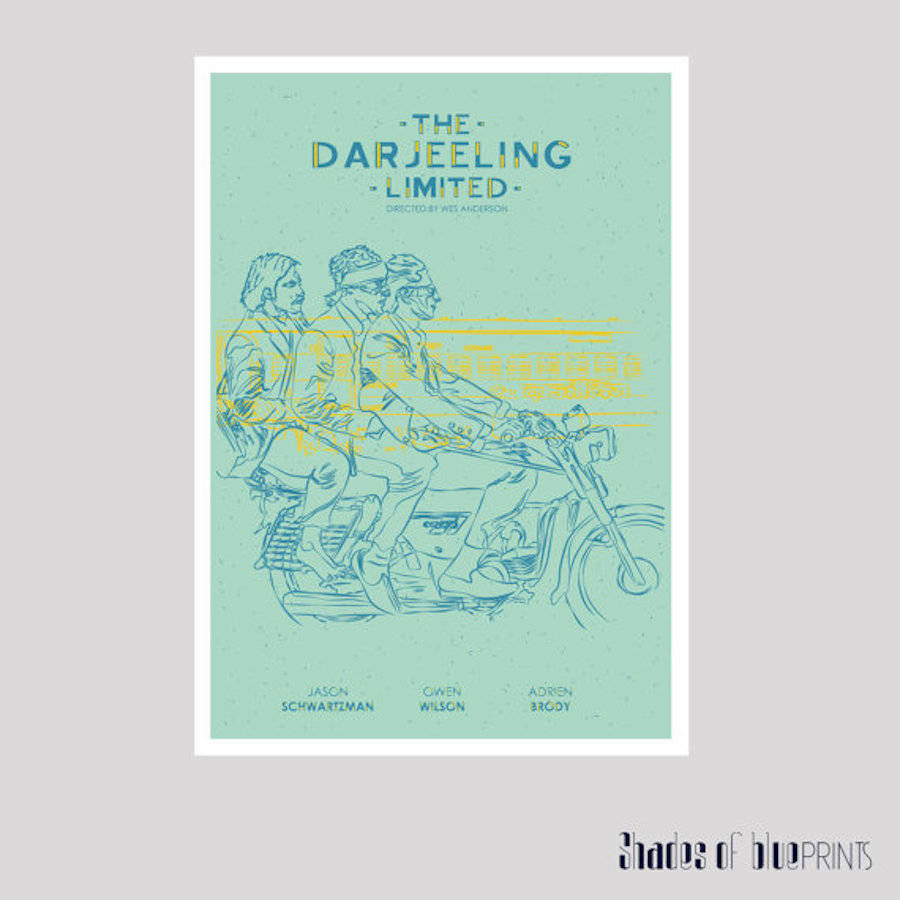 Nice Illustrated Posters of Wes Anderson's Movies
