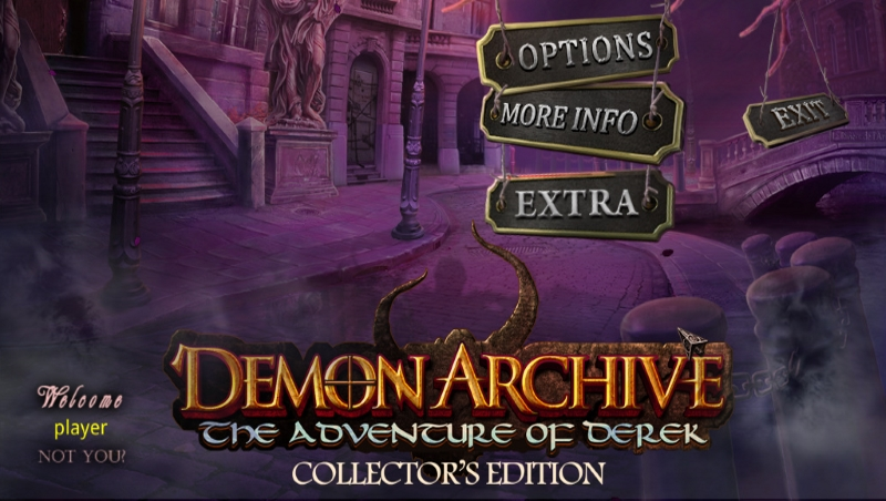 لعبة Demon Archive: Adventure Derek.