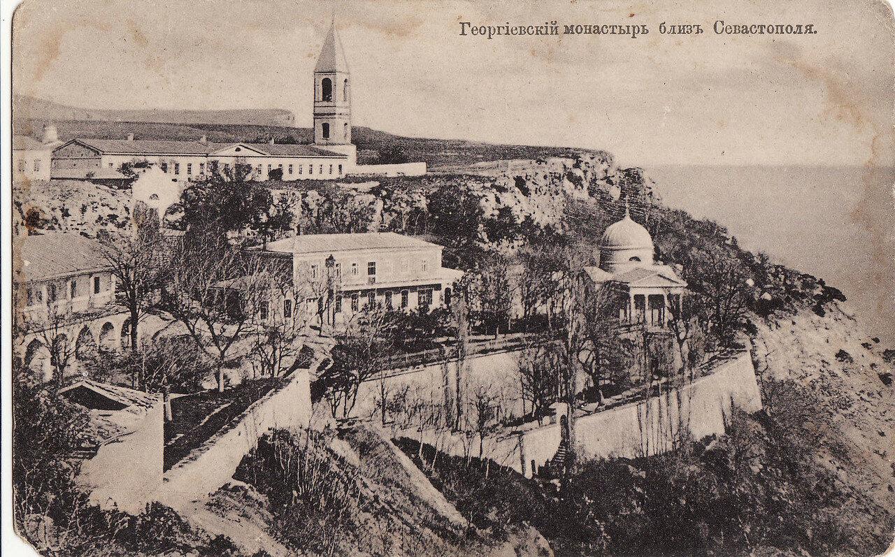 Окрестности Севастополя. Георгиевский монастырь