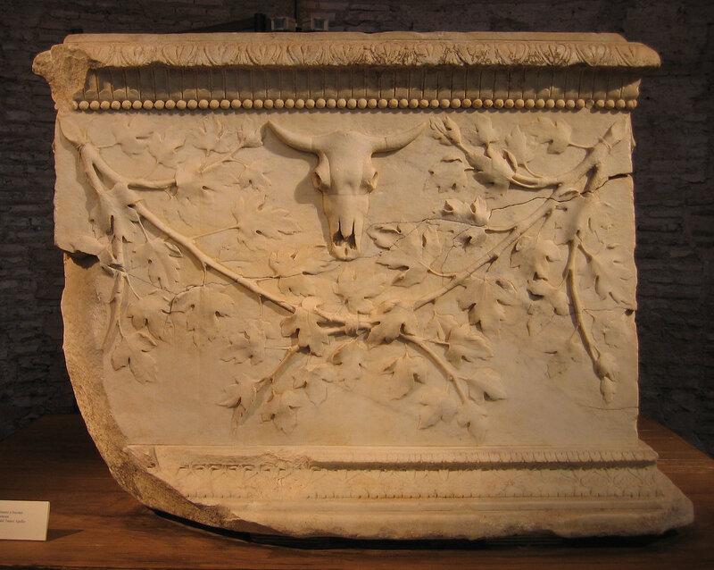 Августовский рельеф