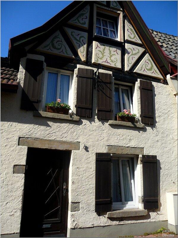 Старинный домик. Линц.