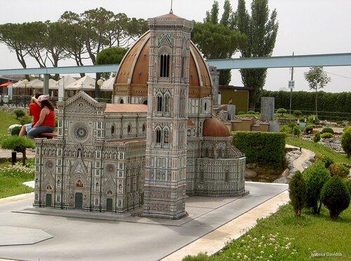 Italia in miniatura. Римини. Италия.