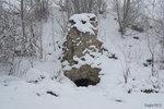 Неизвестное сооружение. Предположительно, использовалось для откачки воды из гранитного карьера.