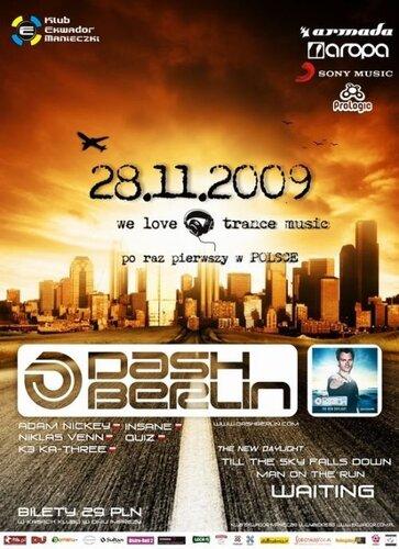 Dash Berlin - Klub Ekwador, Poland (28-11-2009)