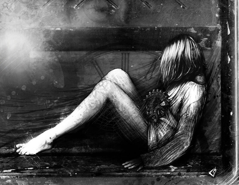 Художник Gavin Hargest - серия Darkness