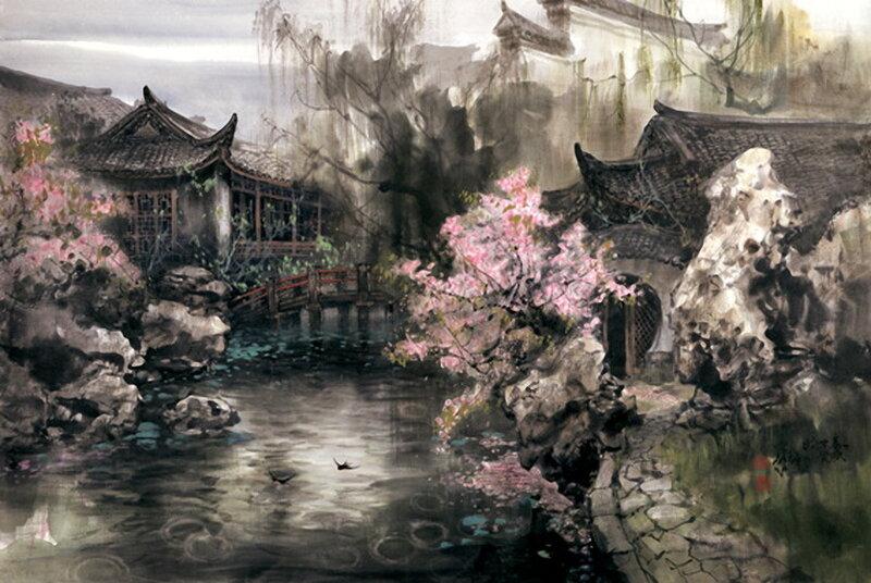 "Предпросмотр - Схема вышивки  ""Zhao Wuchao "" - Схемы автора  ""avevstigneeva "" - Вышивка крестом."