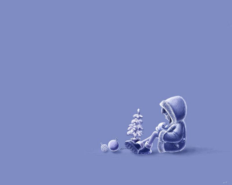 Красивые новогодние обои