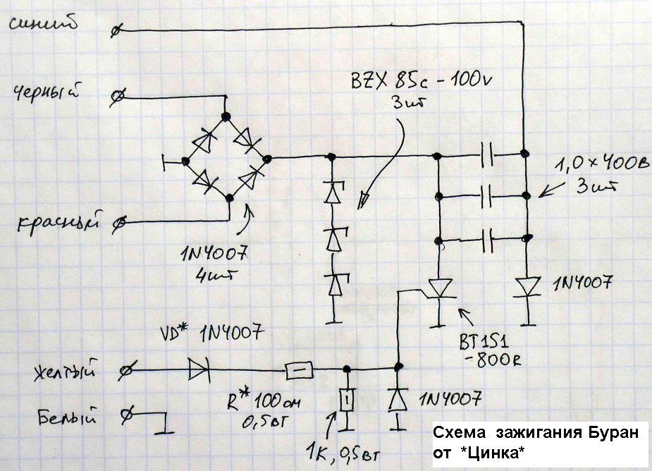 «Схема коммутатора от Цинка.