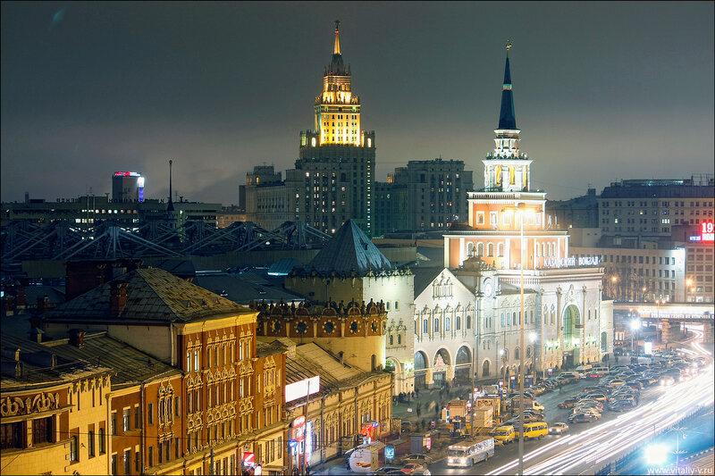 Москва площадь трех вокзалов картинки, днем
