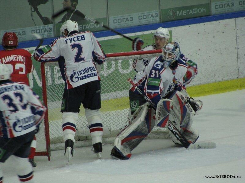 Фото с матча Витязь-СКА 11.11.09