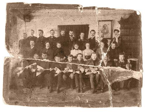 Музыкальный ансамбль, Солигалич. Фото из архива Кленовой Е.И.