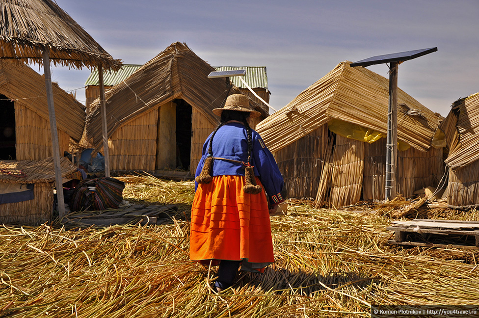 0 17908b 73d37c9b orig Высокогорное озеро Титикака и город Пуно
