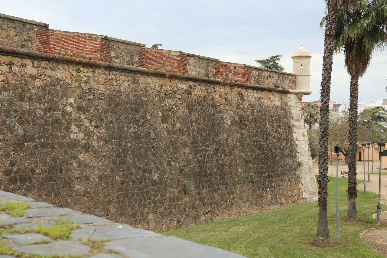 Badajoz fortifications
